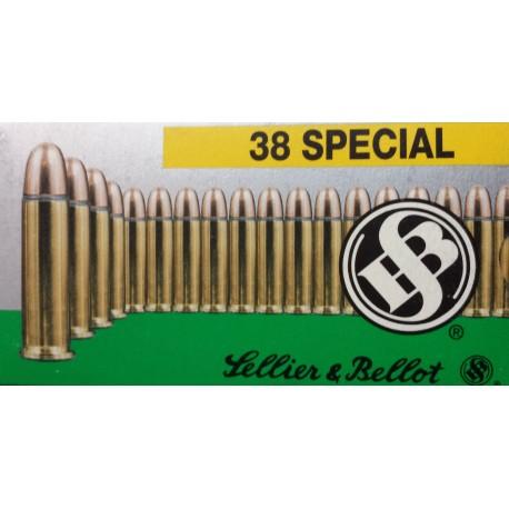 Munitie 38 SPECIAL Sellier Bellot