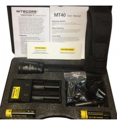 Kit de vanatoare Nitecore MT40