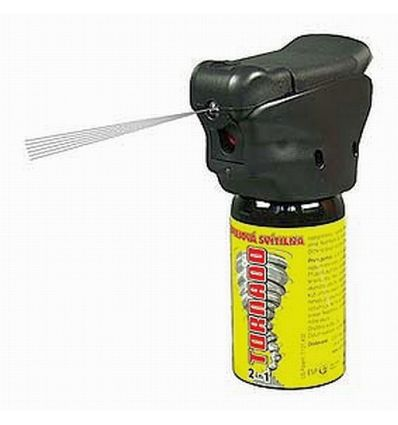Spray autoaparare cu LED Tornado