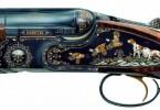 Gravura pe pusca Beretta SSO6 EELL