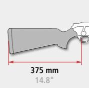lungime pat arma blaser 375 mm