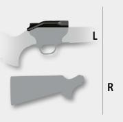 sistem mana dreapta bolt pe stanga blaser r8