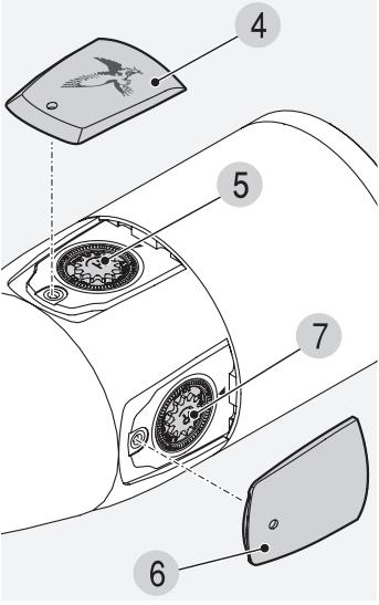 luneta swarovski ds