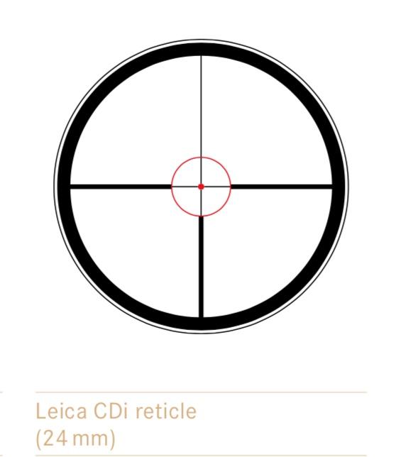 luneta leica magnus reticul