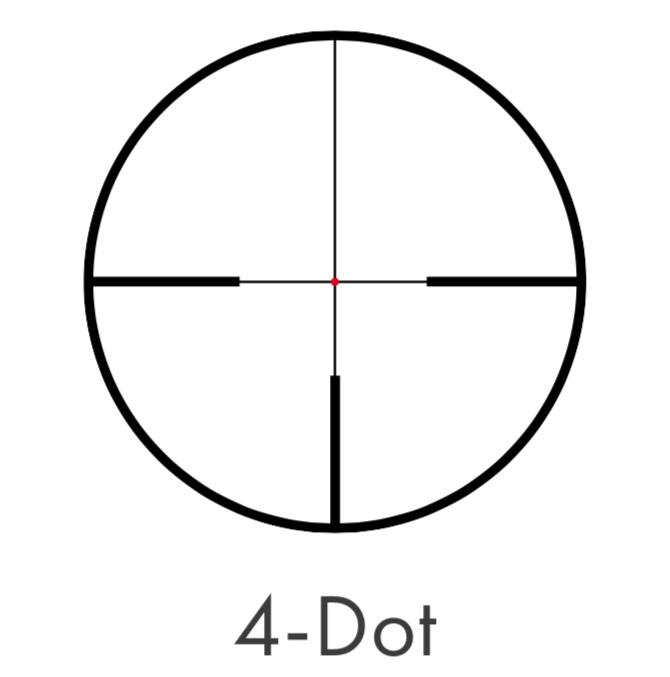 lunete kahles reticul 4 dot